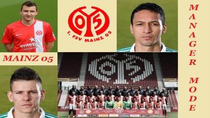 Fifa 14 Mainz 05 Manager Mode #4 - Доминация над Борусия М'гладбах