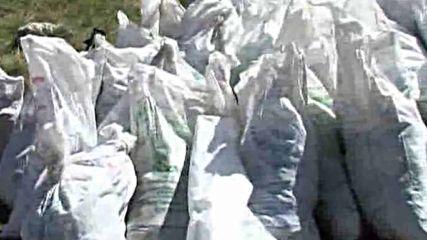 25.08.2010 - Доброволци чистиха Рилските езера