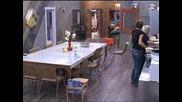 С по - малките тежести на Ицо, Павлин изпитва трудности при вдигането на гирите - Big Brother Family