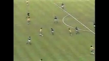 Голът на Нелиньо срещу Италия на Световното през 1978 страхотен удар!
