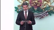Плевнелиев: Въоръжените сили се ползват с доверието на обществото