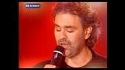 Andrea Bocelli & Gregory - Con te partiro