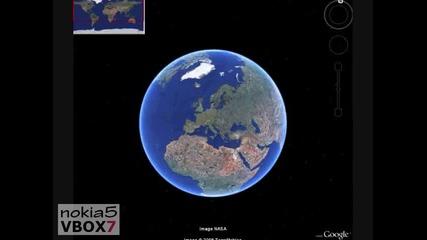 Google Earth - Тайни и скрити изображения