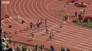 Фаворитите за злато в спринта на 100 м на Олимпиадата в Пекин 2008 , продължават напред