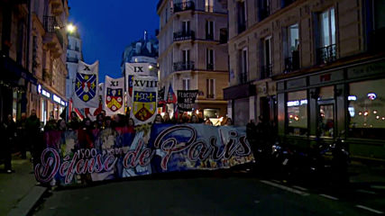 France: Anti-immigration 'Paris Pride' hold annual torchlit march through capital