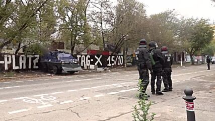 Germany: Tensions, arrests as eviction of Berlin's 'Kopi' trailer camp goes ahead