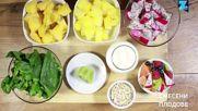Здравословна закуска за 60 секунди: Плодово смути в купичка