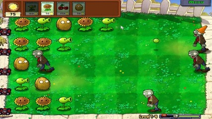 Plants Vs Zombies My Gameplay part 1