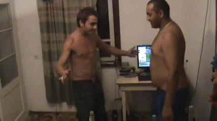 teodor i hristobass drunk - gostilica