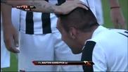 Мартин Камбуров отбелязва 100-тния си гол за Локомотив Пловдив