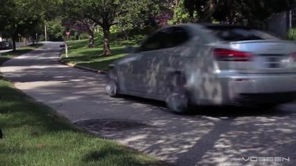 Lexus Isf с джанти Vossen