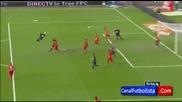 Golazo de Falcao America 1-2 Atletico de Madrid _ Amistoso Internacional 2012