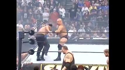 Team Angle vs Team Lesnar at Survivor Series 2003