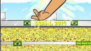 Анимации за световното: Аржентина 1 - 0 Швейцария