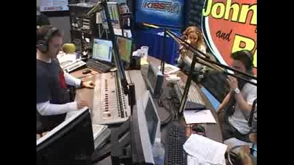Jesse McCartney in studio with Johnjay and Rich