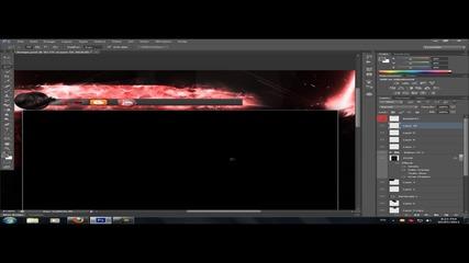 Speed Art - Design for me !!! 100-тен kлип !!!