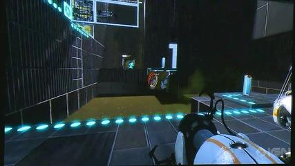 Portal 2 Co - Op Gameplay Part 4 - Pax 2010