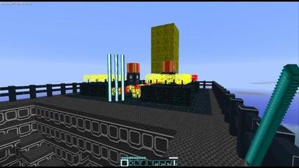 Tron Minecraft Hd Texture Pack (beta 1.6.6)