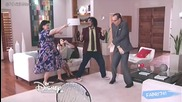 Смях: Олга, Бето и Рамашо пеят Dile que si Виолета 3 + Превод епизод 43