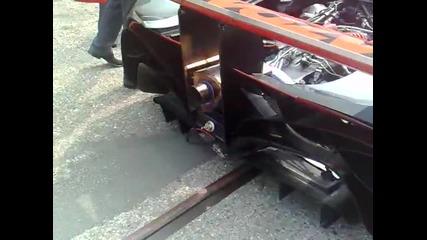 Mazda Furai Concept - start up
