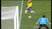 гол на бразилия срещу северна корея (maicon) (1 - 0)