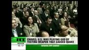 Уго Чавез обвинява Сащ, че са предизвикали земетресението в Хаити с тектонично оръжие