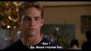 [2/2] Пол Уокър в '' Тя е върхът / She's All That ( 1999 )'' - със субтитри