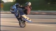 Moto Stunt ( Modern Day Zero - Superhuman ) превод