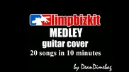 Limp Bizkit Medley guitar cover. 20 songs in 10 minutes