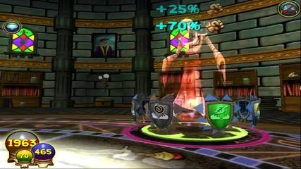 Wizard101 1 000 000 Damage With Katzenstein's Monster [no Crit]