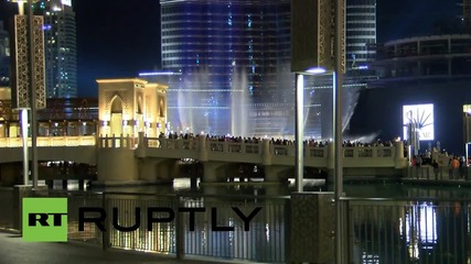 UAE: World's tallest tower lit up in French tricolour in tribute to Paris attack victims