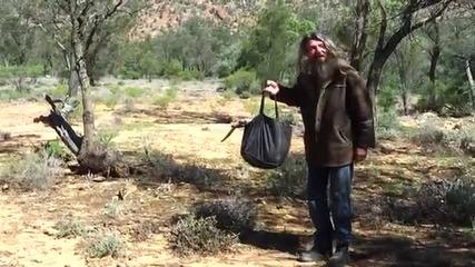Как се хваща кенгуру с подръчни материали