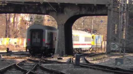потеглянето на спецялният влак от гара Пловдив
