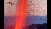 Ивригване на вулканът в Исландия!