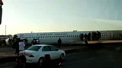 Iran: Dramatic emergency landing leaves plane on highway, no victims reported