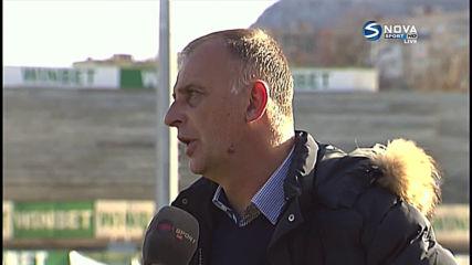 Тони Здравков след поражението с 0:2 от Славия