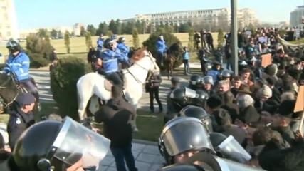Romania: Shepherds storm parliament in protest over new sheepdog law
