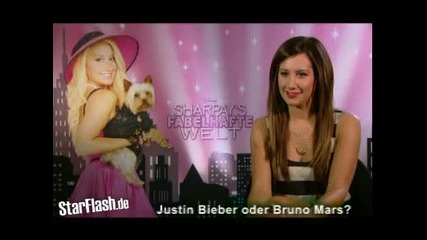 Ashley Tisdale избира Селена пред Майли без дори да се поколебае !!