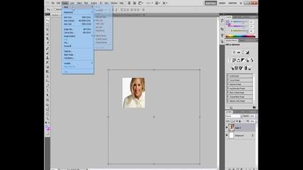 Как най - лесно се прави аватар с photohop