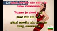 Караоке версия Dragana Mirkovic - Placi Zemljo - Karaoke
