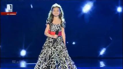 Крисия Тодорова с Хасан и Ибрахим Игнатови - Планетата на децата - Евровизия - Малта (2014)