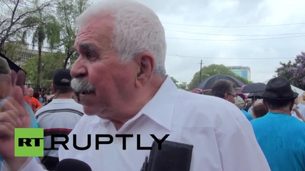 Puerto Rico: Protesters call on US to release Oscar Lopez Rivera
