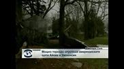 Мощно торнадо опустоши щатовете Айова и Уисконсин
