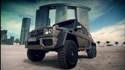 Top Gear с Mercedes-benz G63 Amg 6x6 в Обединени арабски емирства