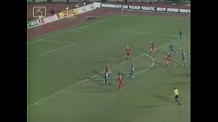 Levski - Liverpool Simonovich Goal