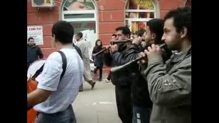 Кукери в Благоевград