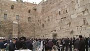 East Jerusalem: Israeli Minister holds mass prayers for rain at Jerusalem's Western Wall
