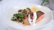 Топла салата с кускус, киноа и сьомгова пъстърва | Джъстин Скофийлд | 24Kitchen Bulgaria