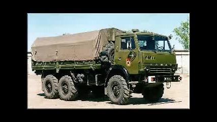 Kamaz Milatiry Truck
