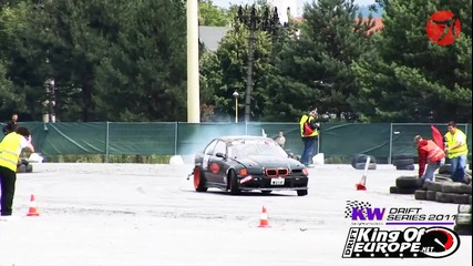 King of Europe Drift Series Round 3 - Drift & Girls Slovakia 2011
